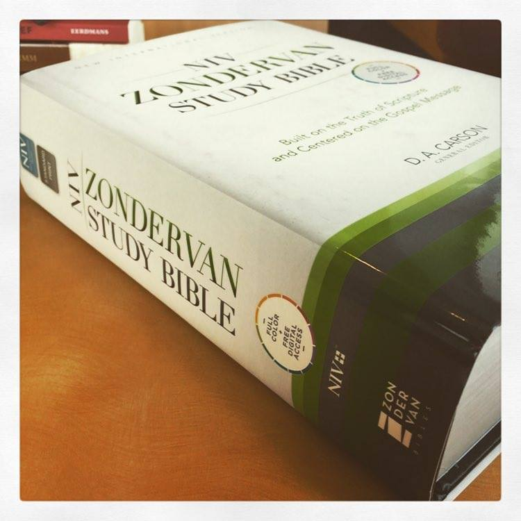 NIV Zondervan Study Bible by D. A. Carson... for the Olive ...