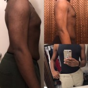 4 week results down two pant sizes