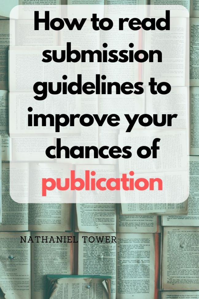 Playing the Submissions Game: A Guide to Guidelines