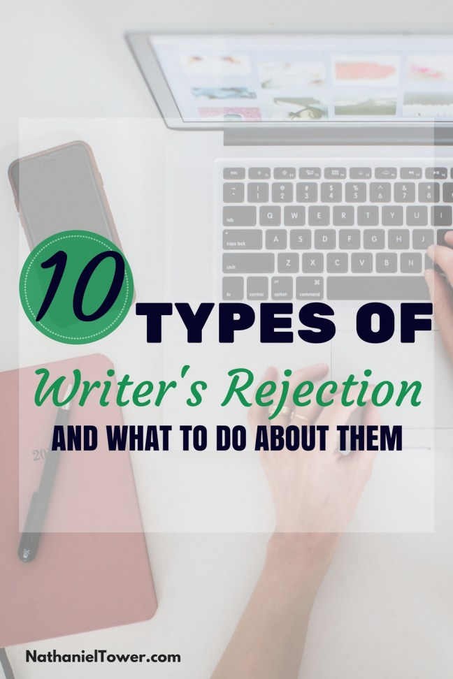 types of writer rejection