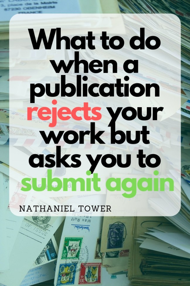 What to do when a publication asks you to submit again