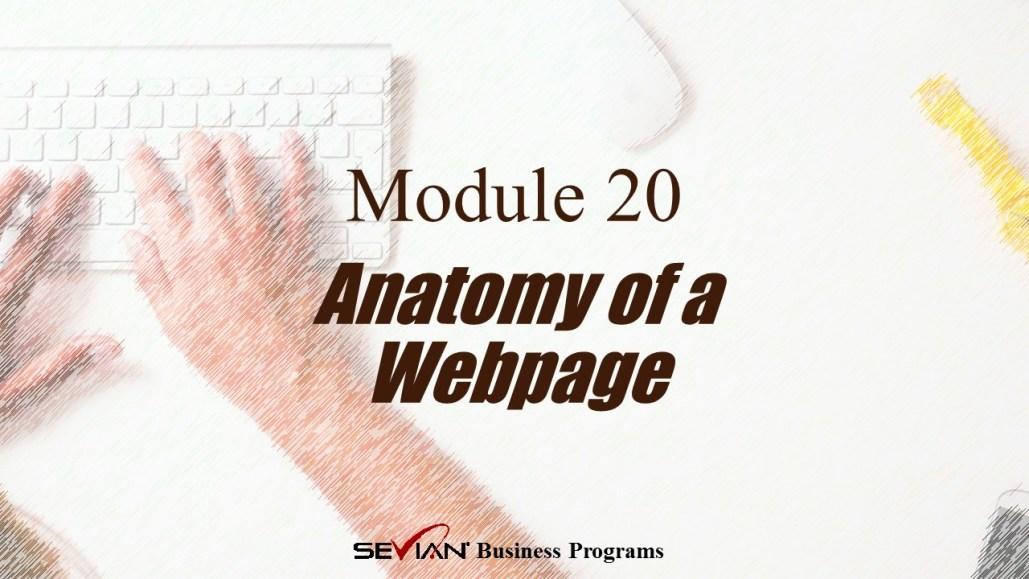 Anatomy of a Webpage, Digital Products Platform, Nathan Ives