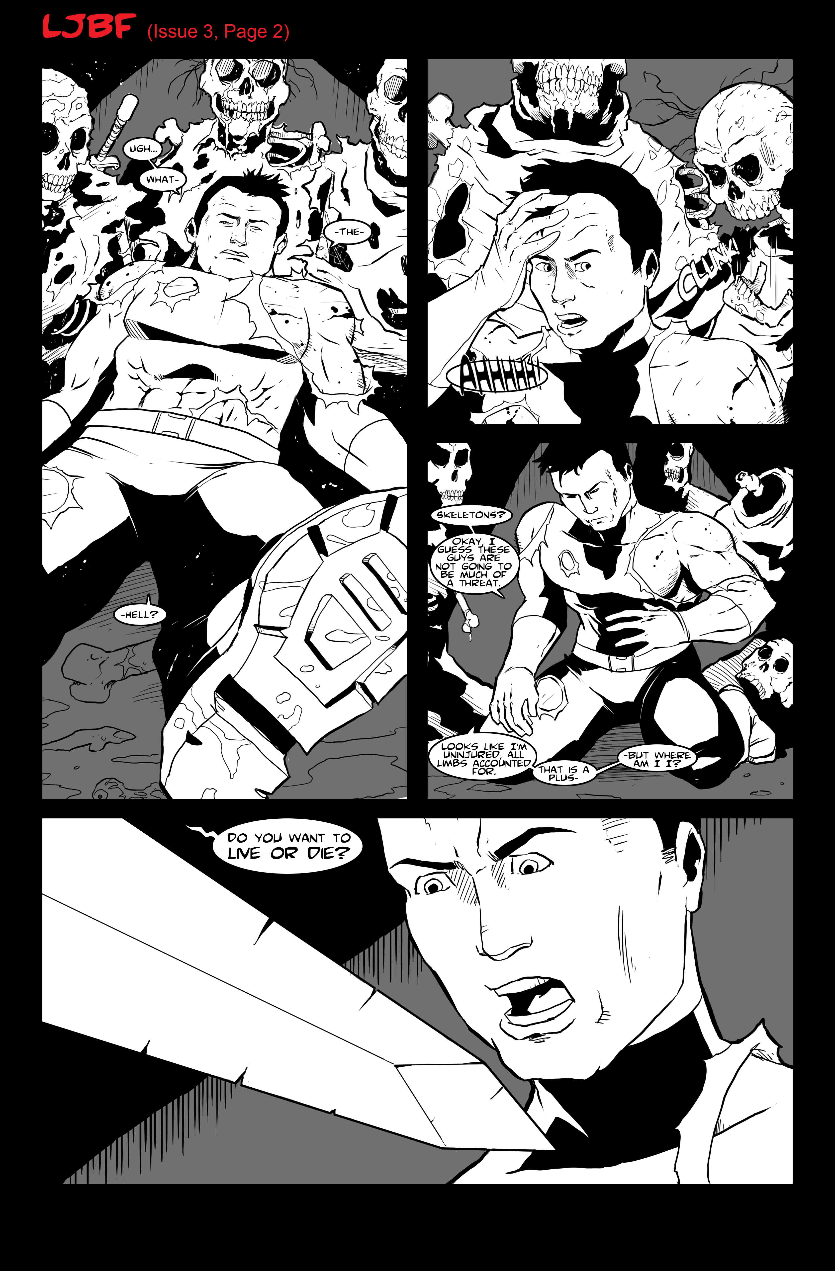 Lets Just Be Foes (Issue 3, Page 2)