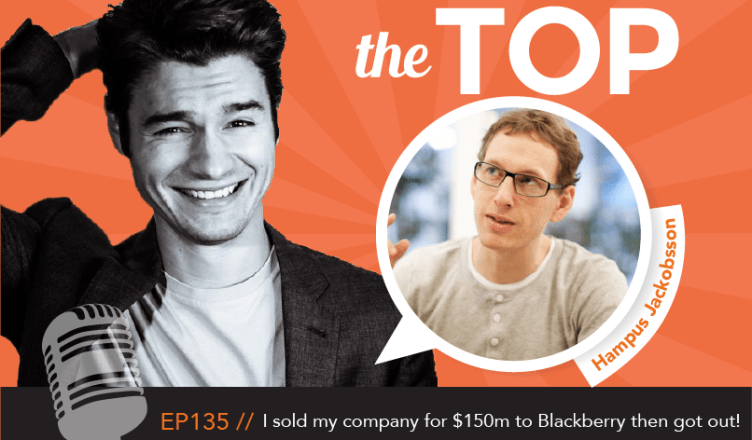 794fe1f892b I sold my company for $150m to Blackberry then got out! - Nathan Latka
