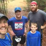 Run friends at Harbison