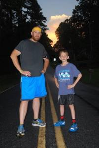 Matthew and Douthard Strickland - father and son ultra runners
