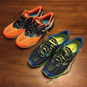 New ASICS running shoes 2015