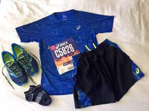 LA Marathon race clothes and shoes