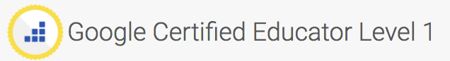 Working on becoming a Google Certified Educator