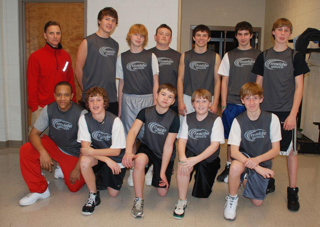 mside jv ball team 2009