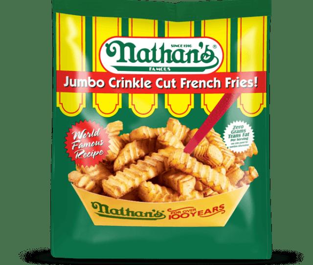 Jumbo Crinkle Cut French Fries
