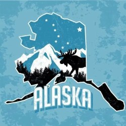 Alaska Archives Employee Or Independent Contractor - Alaska over us map