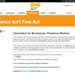NYC Consumer Affairs website