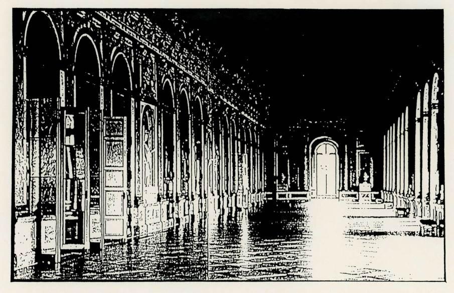 The Hall of Mirrors, xerox deconstruction, 8 X 11, 1987