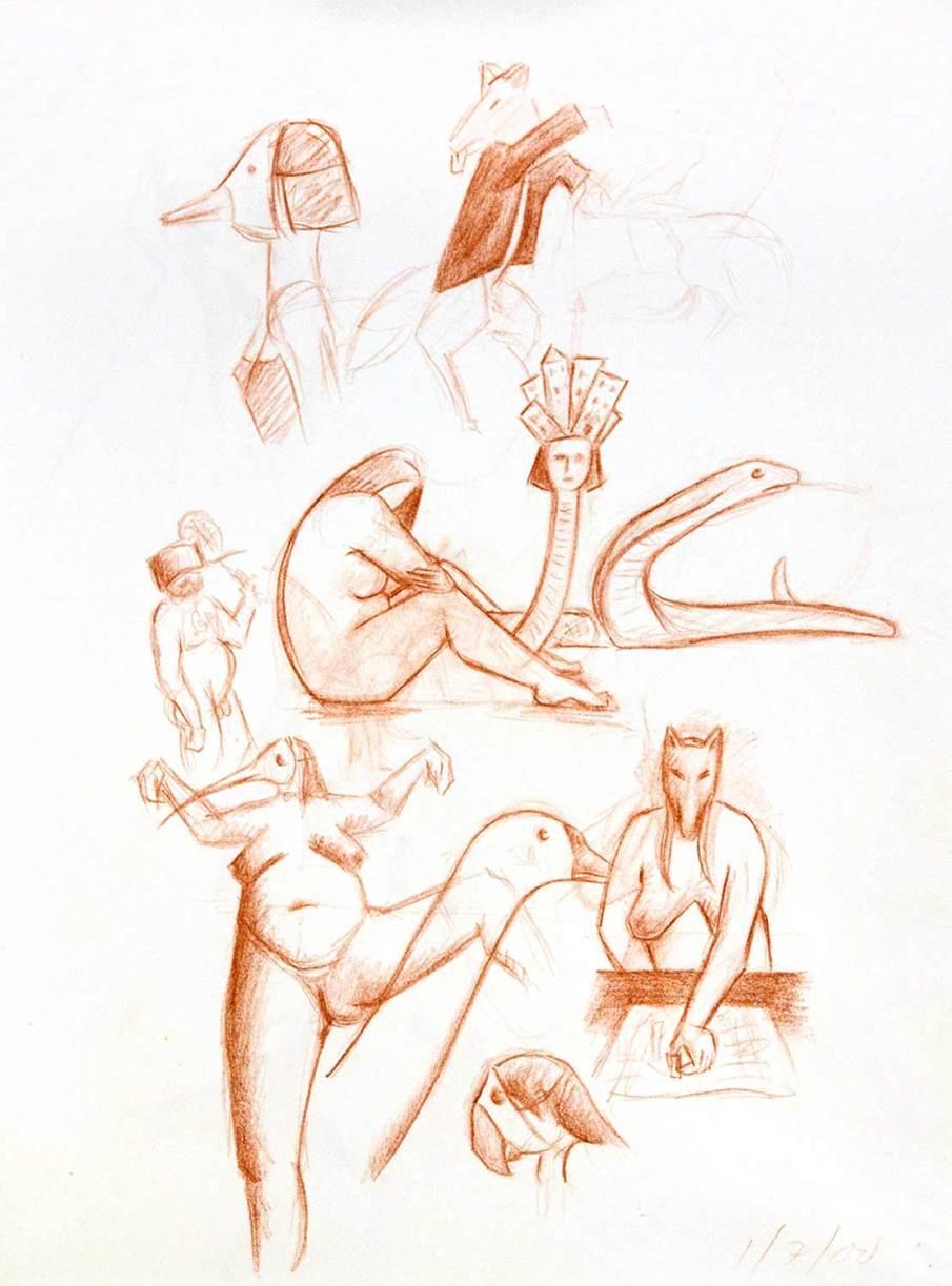 Fat Betty Drawings