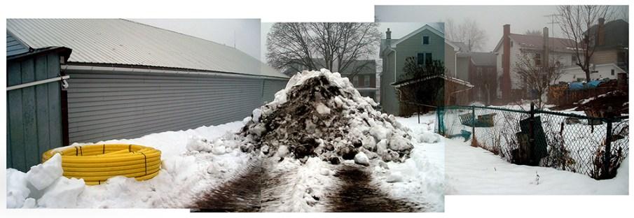 Snow Pile, Huntingdon