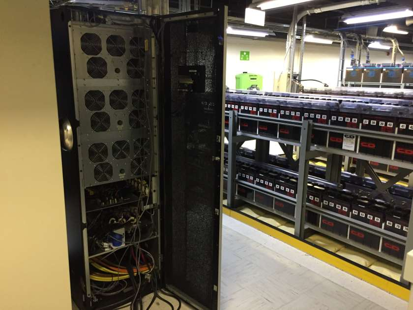 Eaton 93PM UPS with C&D flooded cell batteries