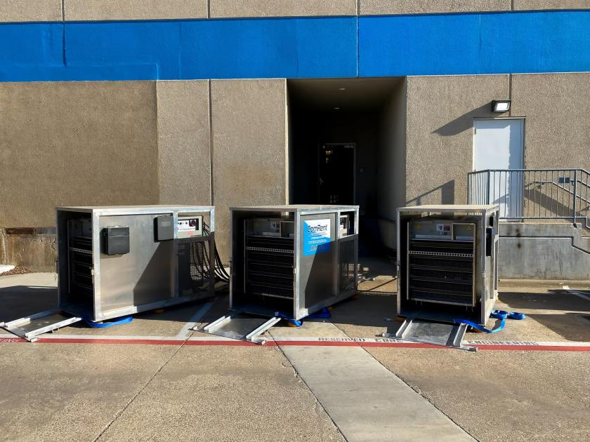 Critical System load bank testing and commissioning