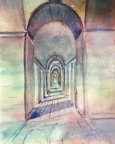 J50 Watercolor in Arras J3