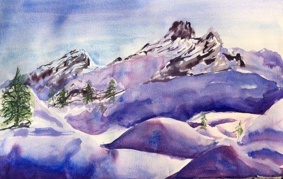 J11- Neige et montagne