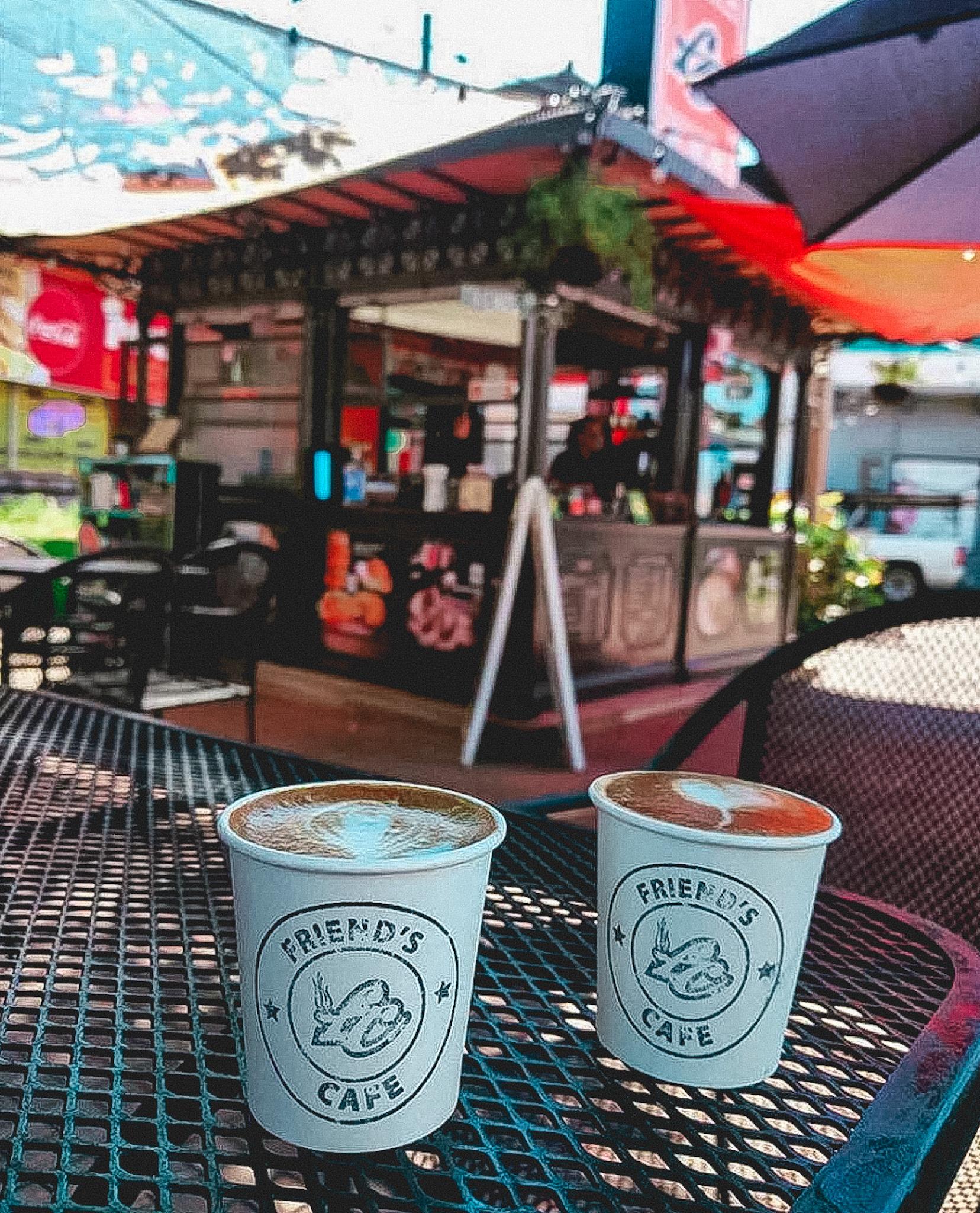 Friend's Café, Rincón, Puerto Rico, Plaza, Coffee