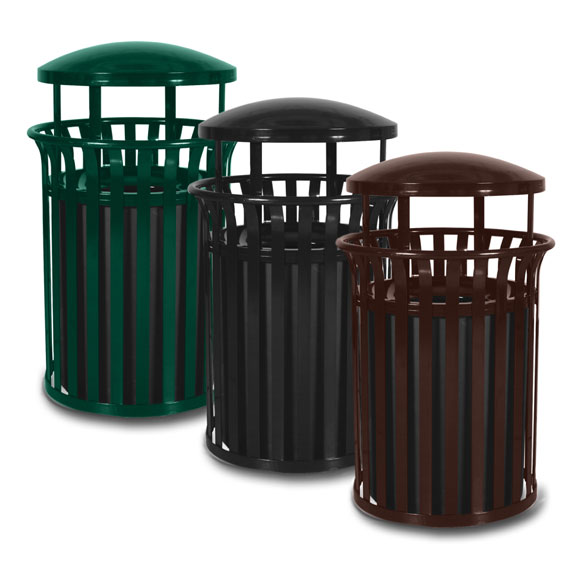 commercial waste receptacles restaurant trash cans national hospitality supply blog. Black Bedroom Furniture Sets. Home Design Ideas