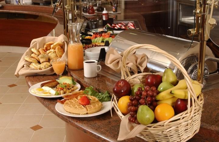 buffet and breakfast offerings