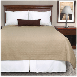 Cathedral Square Reversible Quilted Coverlets
