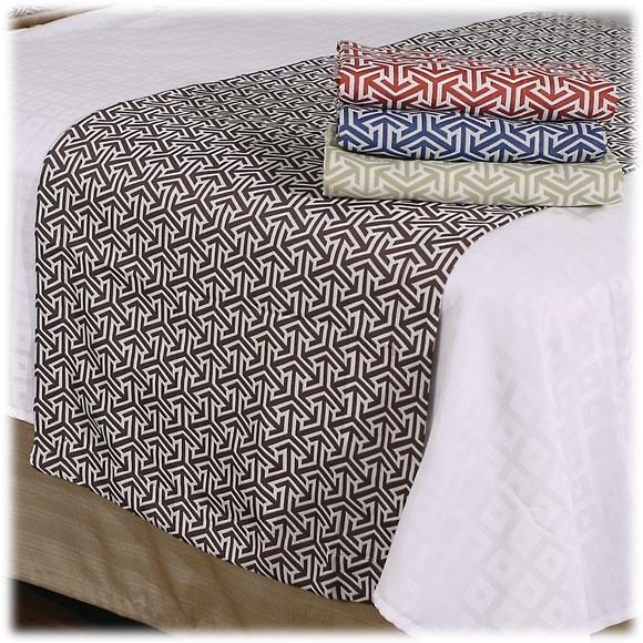 hotel bed scarves