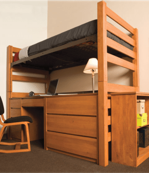 university dorm furniture open loft collection