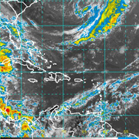 Weather satelite imagery