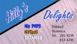 Hilly's Delights Business Cards
