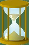 Hourglass procrastination