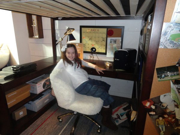 Sleep Study Loft Bed PB Teen