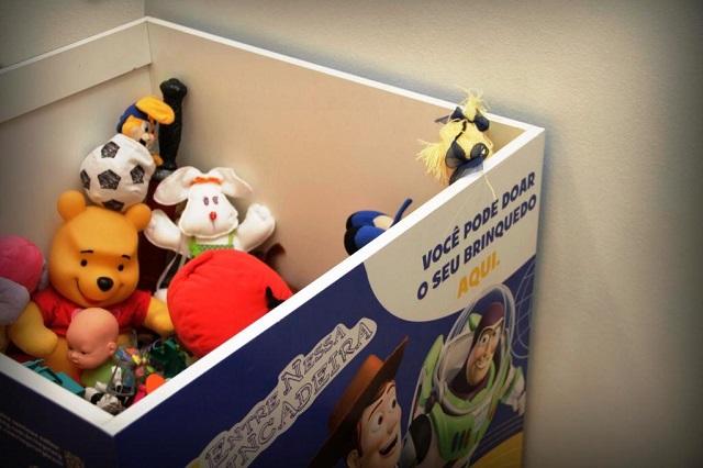 Shopping Tijuca recebe doações de brinquedos no mês das crianças, com apoio da Disney
