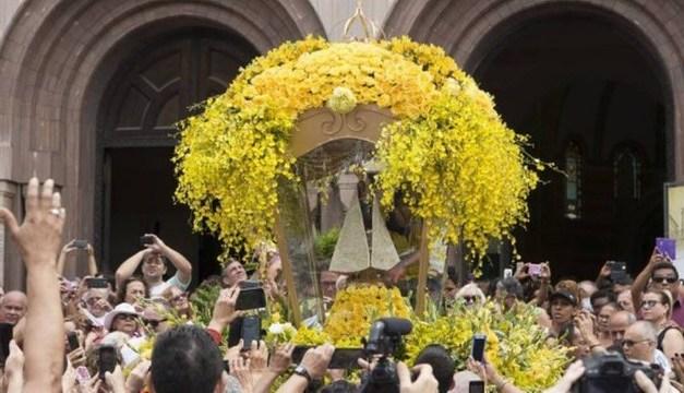 Círio realizado pela Igreja dos Capuchinhos leva 10 mil pessoas à Tijuca
