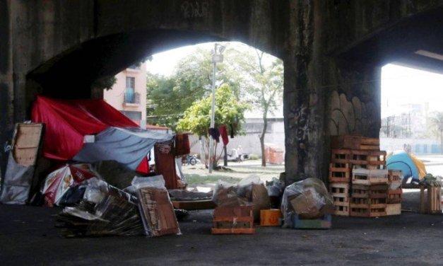 Cresce o número de moradores de rua na região da Grande Tijuca