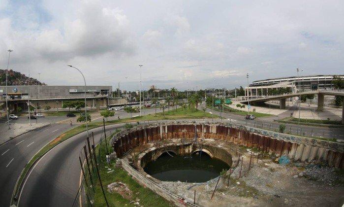 Obra contra enchentes na Grande Tijuca está parada