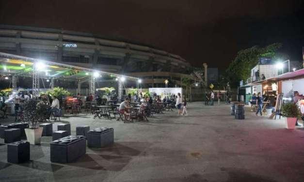 Arena Park encerra suas atividades de lazer no Maracanã
