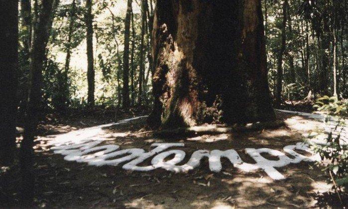 Obra de arte é resgatada na Floresta da Tijuca