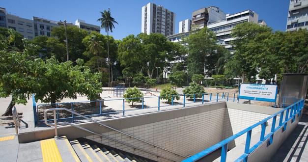 Metrô na Tijuca: Estação Afonso Pena