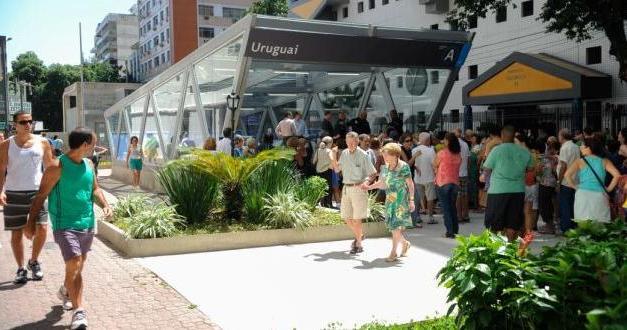 Metrô na Tijuca: Estação Uruguai