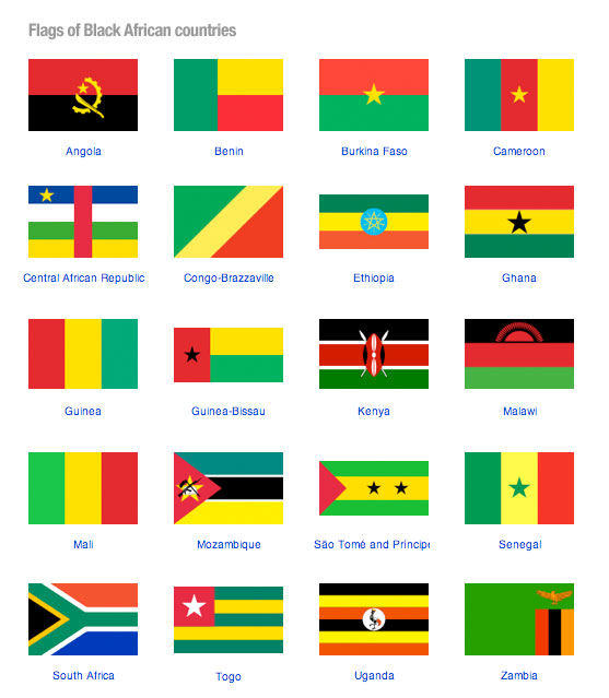 national flags the real