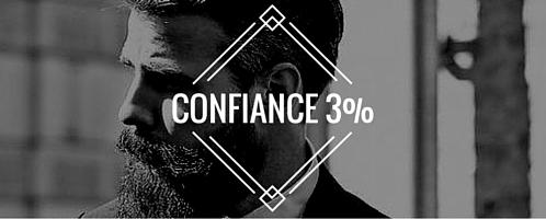 Confiance 3%