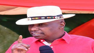 Baringo Senator and Kanu party chair Gideon Moi