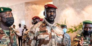 Lieutenant Colonel Mamady Doumbouya Guinea coup