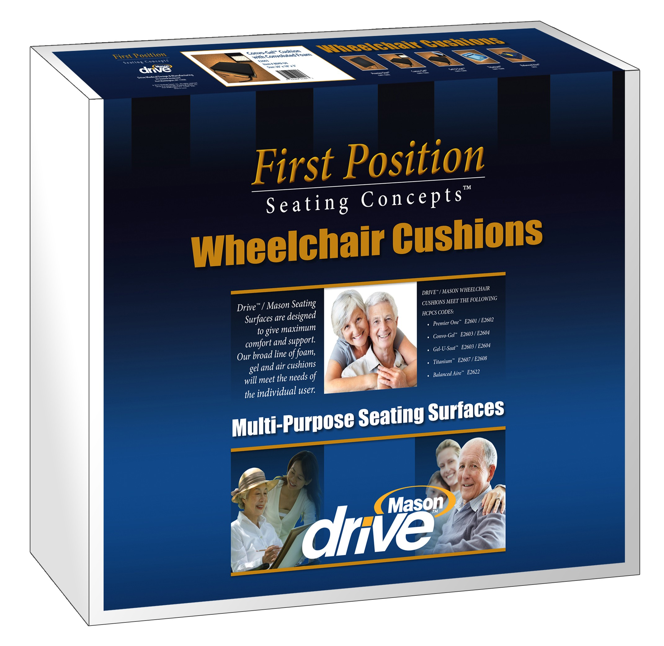 Wheel Chair Cushion Gel U Seat Skin Protection 3 Gel Foam Wheelchair Cushion