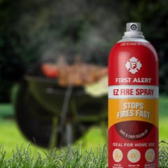 Fire Extinguisher For Kitchen Use Stainless Steel Knobs Cabinets First Alert - Extinguishers National Lumber Company ...