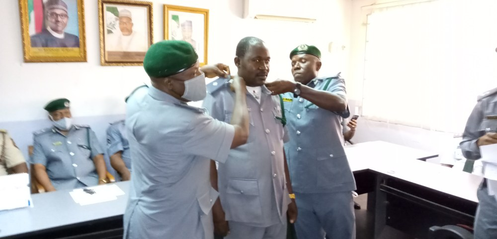 68 newly promoted Custom Officers decorated in Bauchi - National Accord