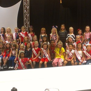 Miss NC Princess Faith Anne Yeley and the rest of the gang together!
